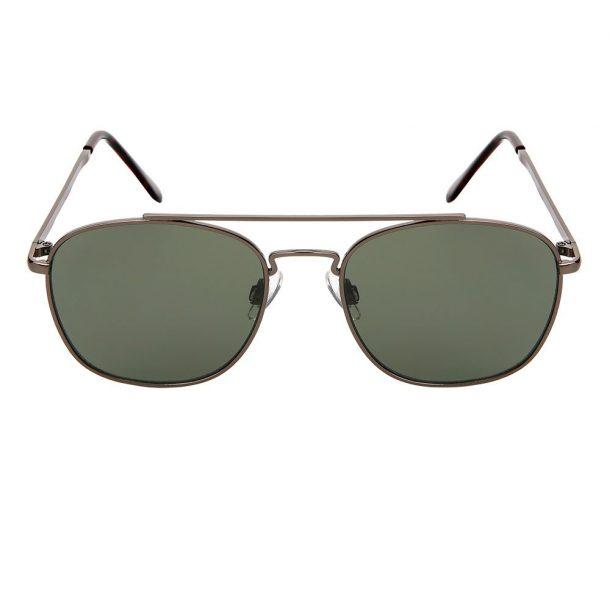 Metal Square Aviator Sunglasses