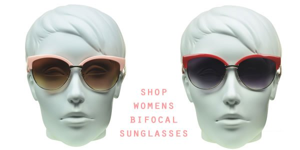 Sunglassmonster.com carries a wide variety of womens bifocal sunglasses