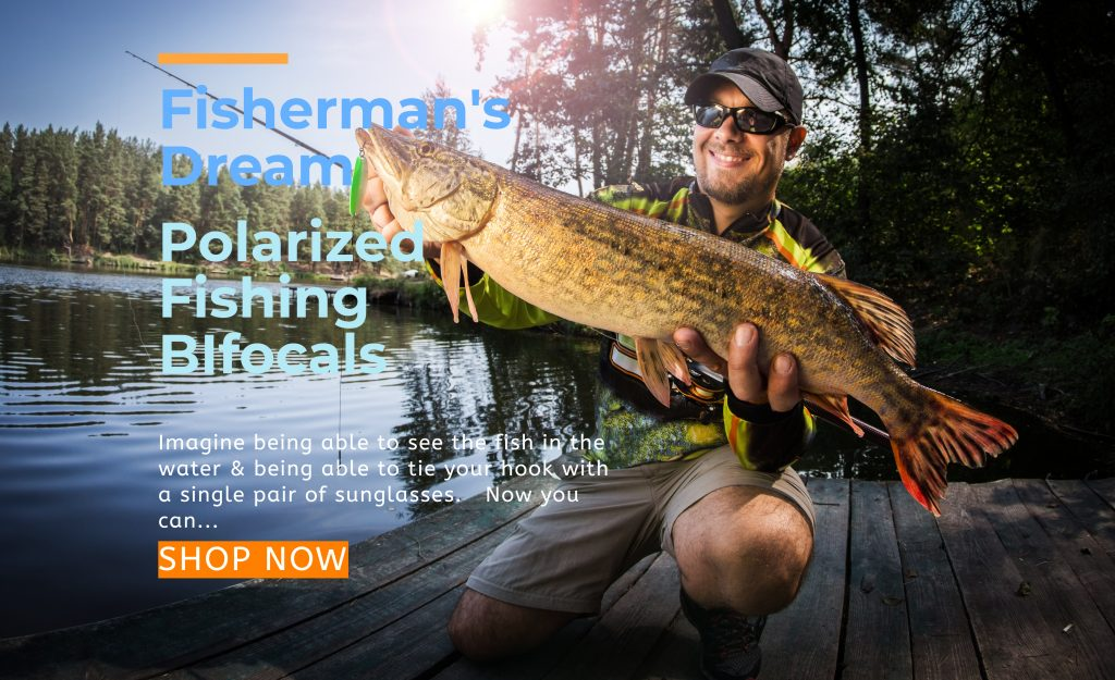 Fissermen love polarized bifocal sunglasses for fishing