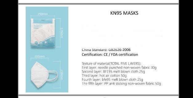 bikershades.com KN95 face mask